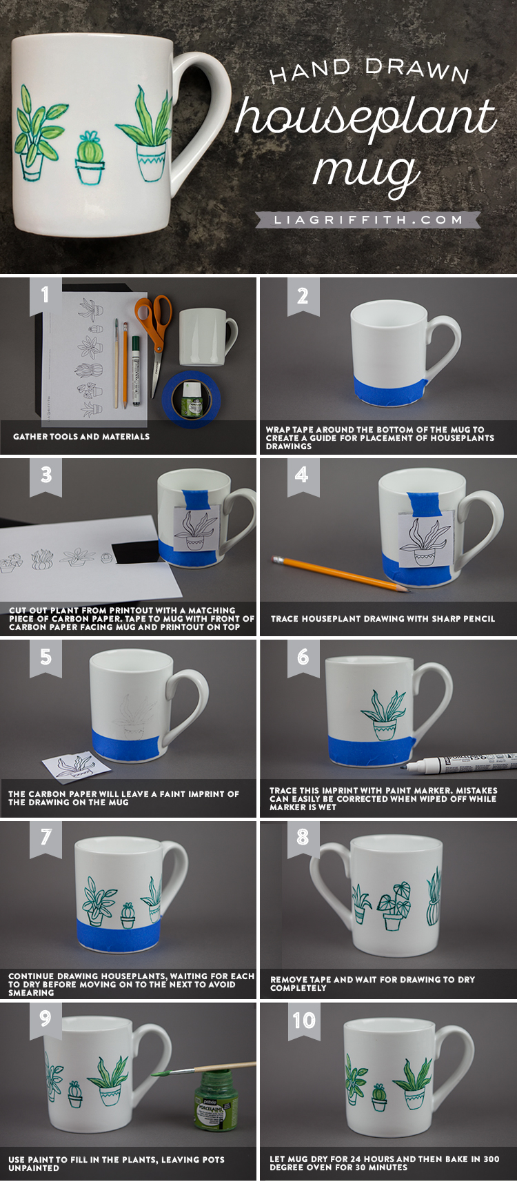 How To Make Diy Hand Painted Mugs