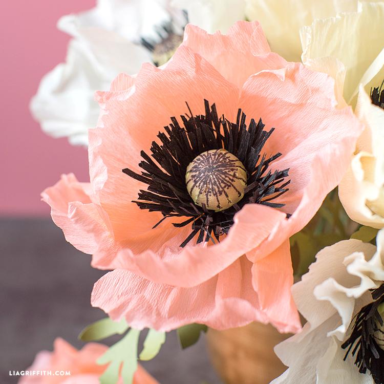 Paper Poppy Flower