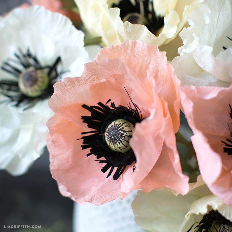Paper Oriental Poppies