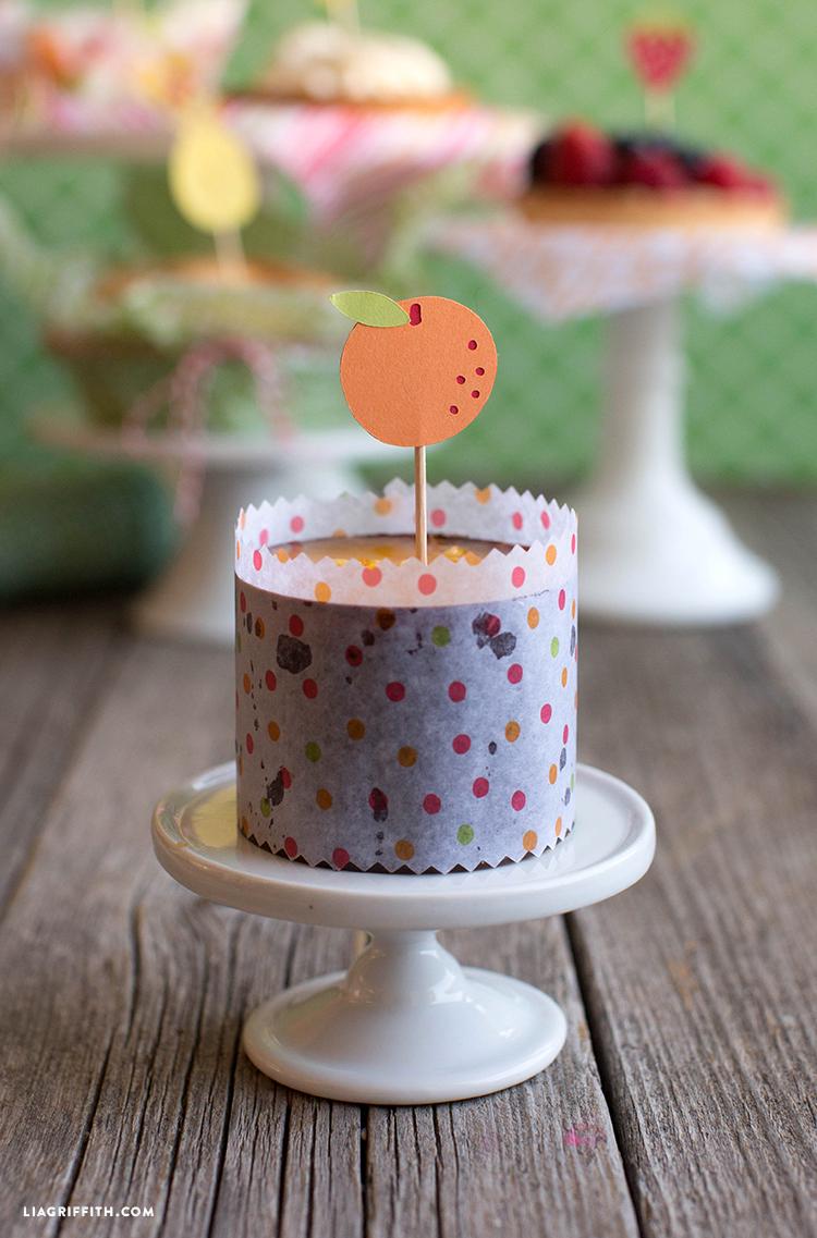 Fruit Dessert Toothpicks