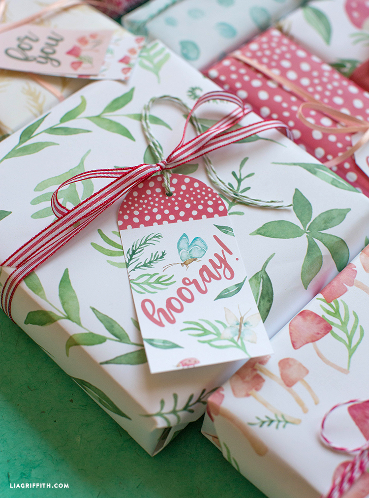 printable gift wrapping