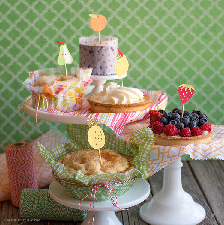 Fruit Treat Toppers