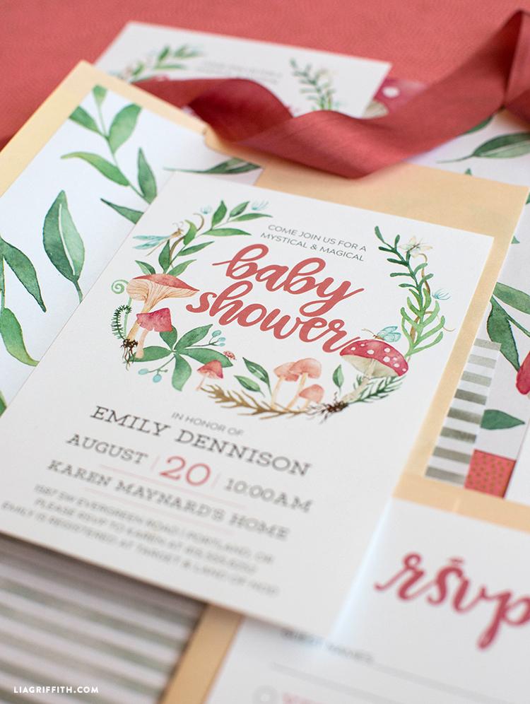 printable baby shower invite