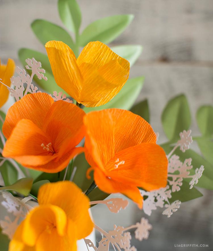 diy poppy flowers