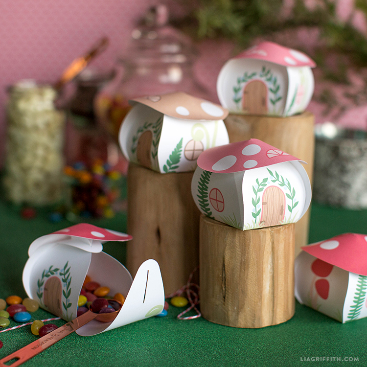 toadstool treat boxes