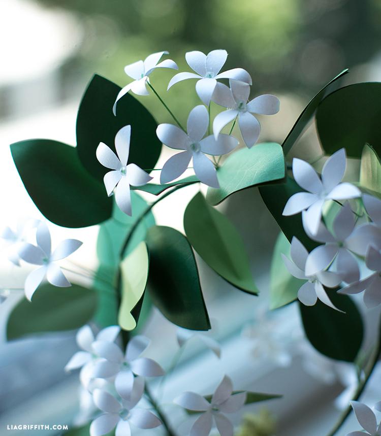 diy paper jasmine
