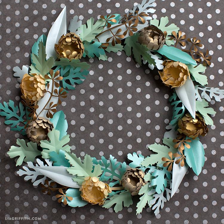 diy fall mum wreath