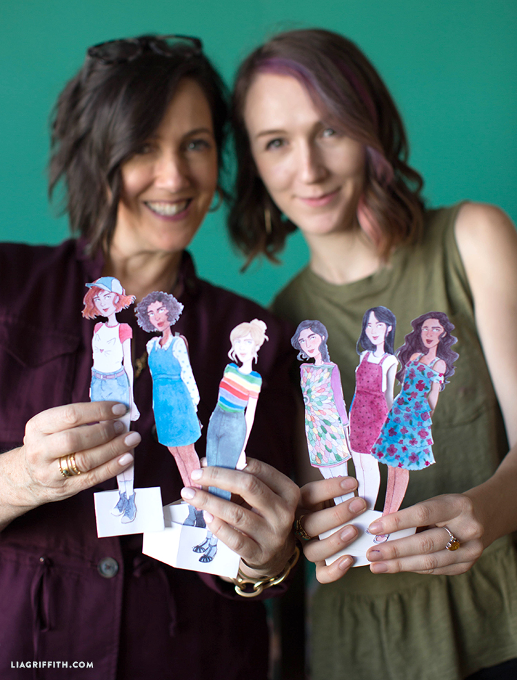 diy printable paper dolls