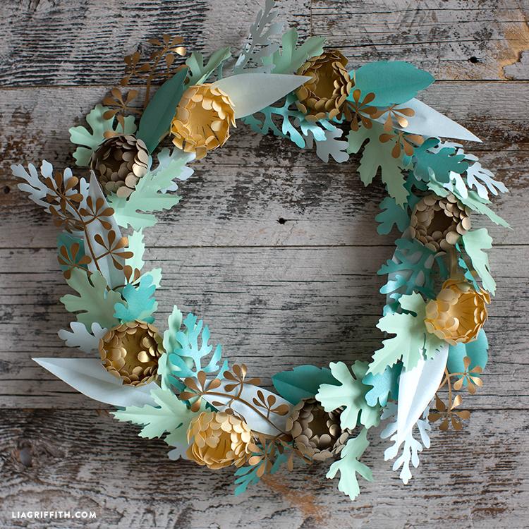 mum wreath for fall