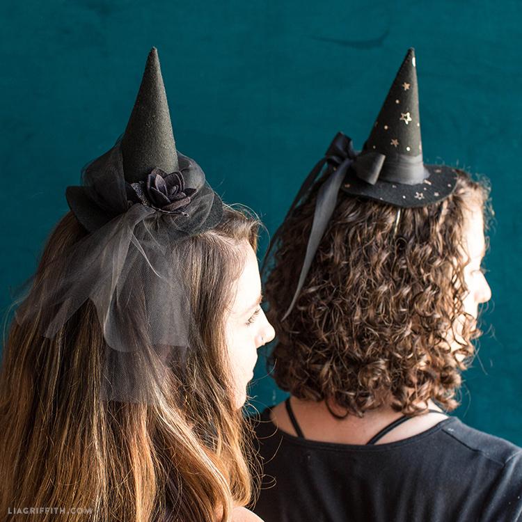 witch hat fascinators