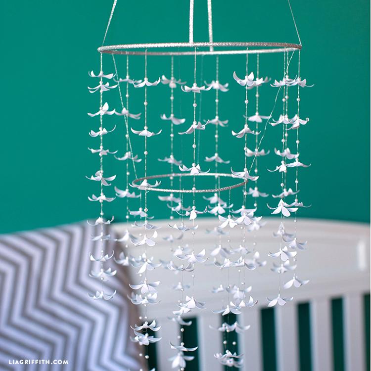 jasmine flower chandelier