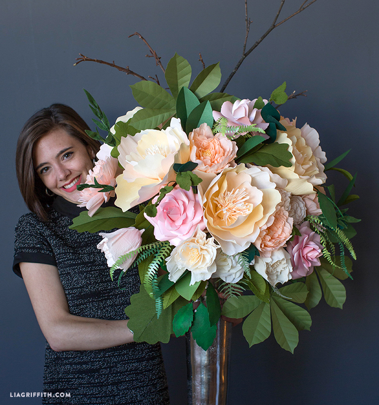 giant floral bouquet for cricut