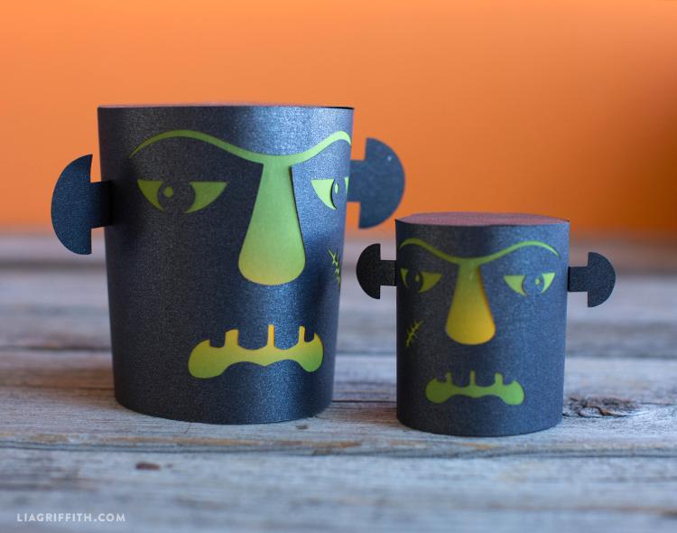 spooky paper lanterns