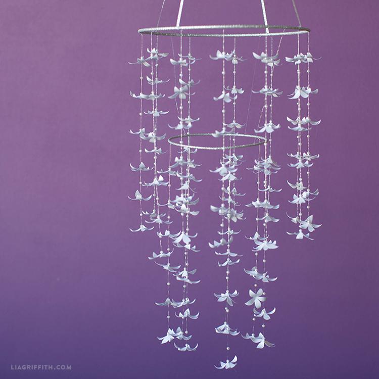 paper jasmine chandelier