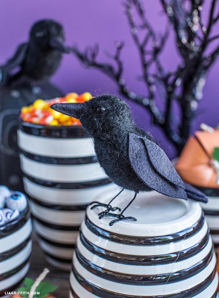 diy halloween raven