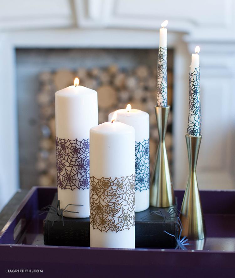 halloween candle wraps