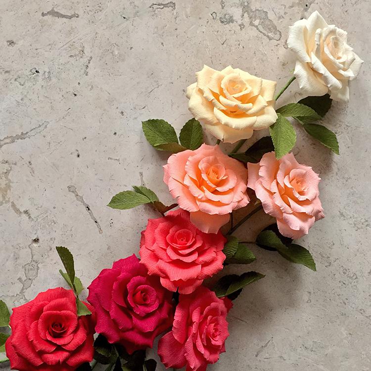 paper flower artist tiffany holloway