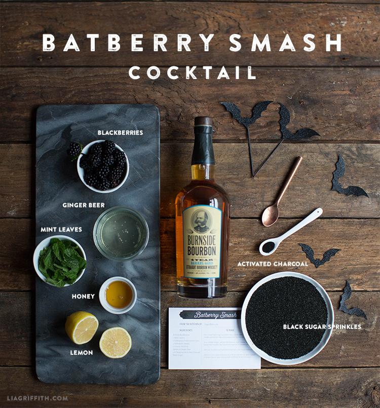 batberry smash halloween drink