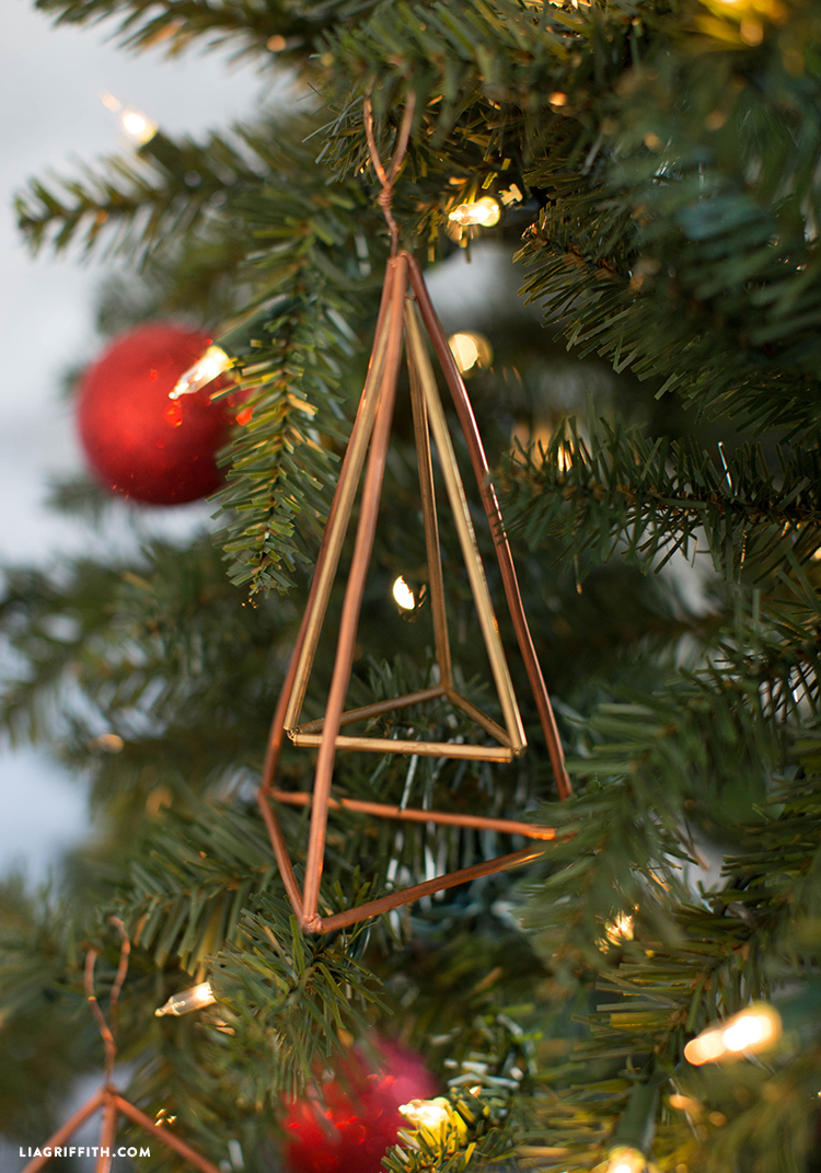 diy copper ornament