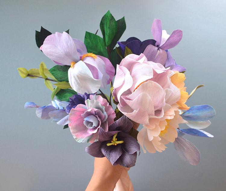 paper bouquet lucia balcazar