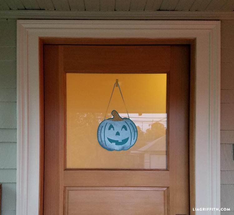 felt teal pumpkin project