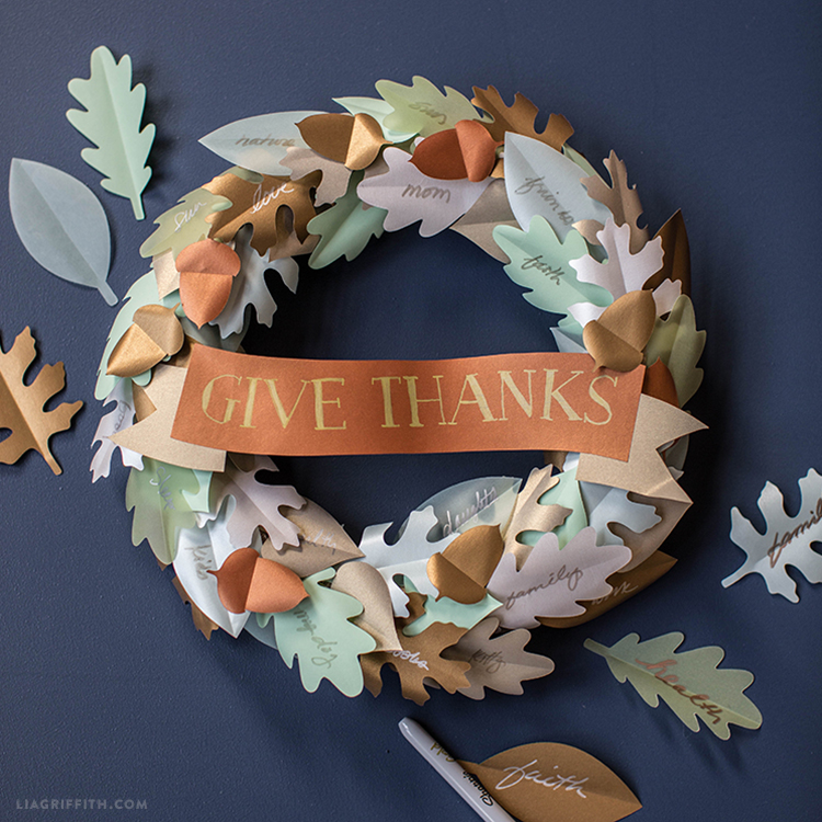 printable thanksgiving wreath