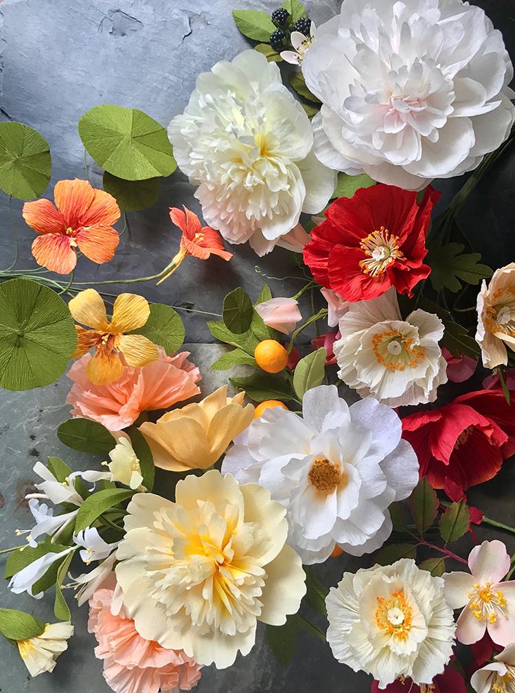 paper flower artist suzonne stirling
