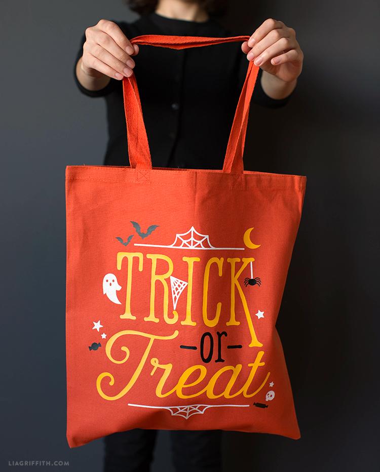 diy trick or treat tote