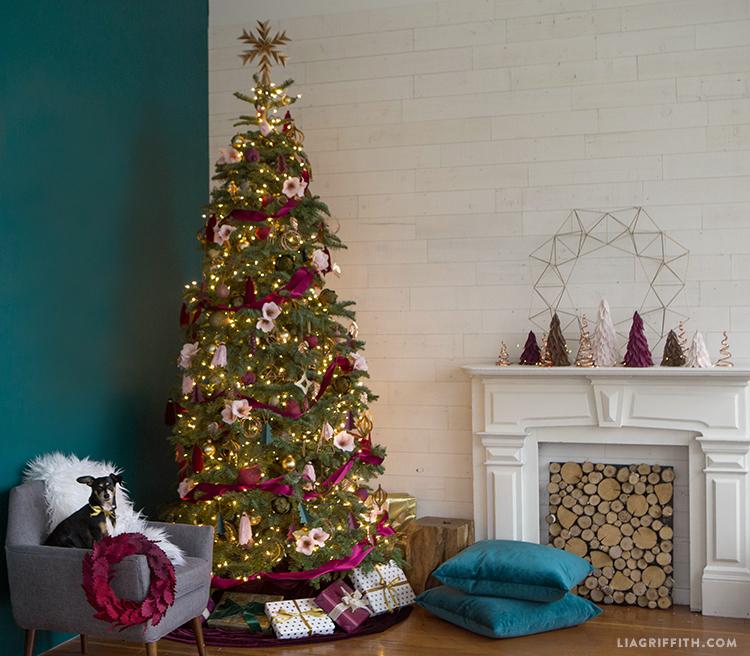 christmas 2017 concept tree
