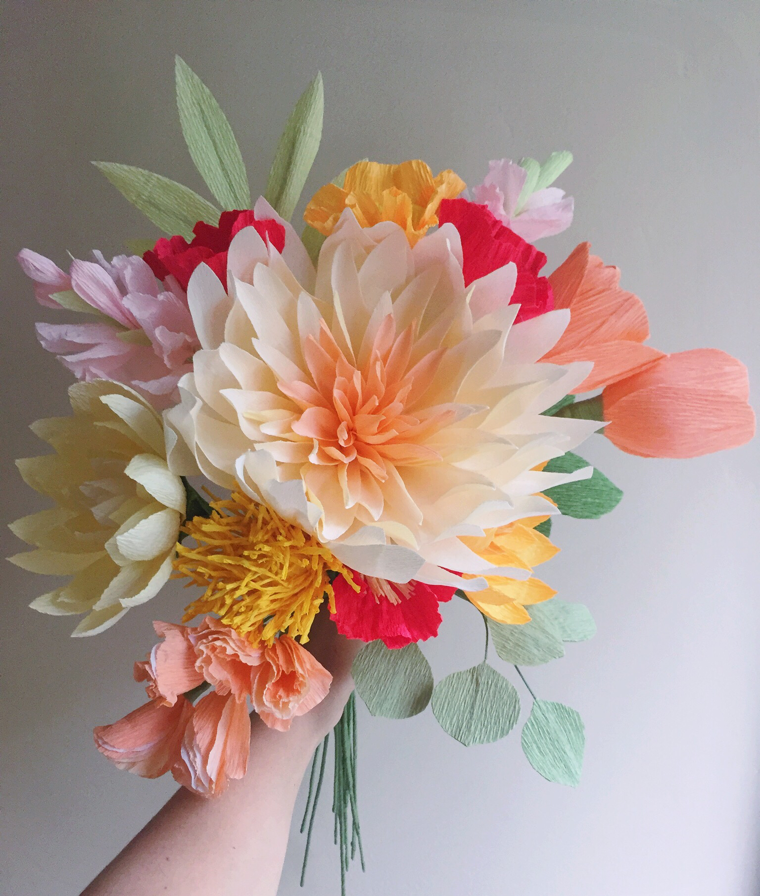 diy flowers meredith and cherie