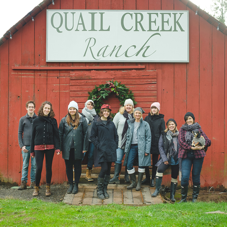 our visit to the christmas tree farm