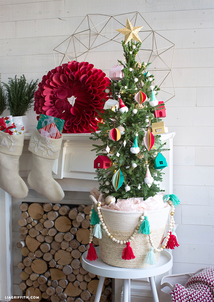 diy kids christmas tree