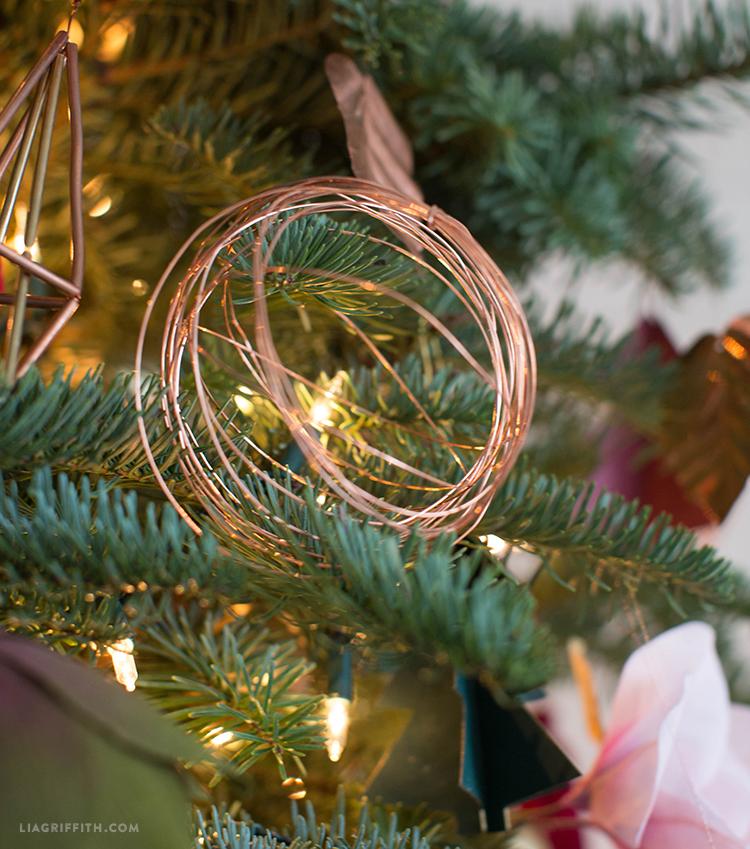 copper wire ornaments
