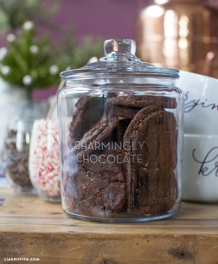 diy cookie and cocoa bar