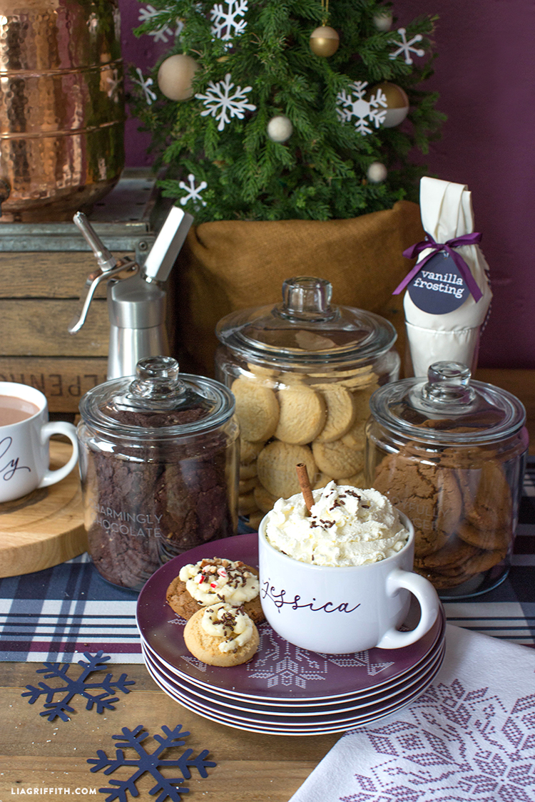 cocoa and cookie bar