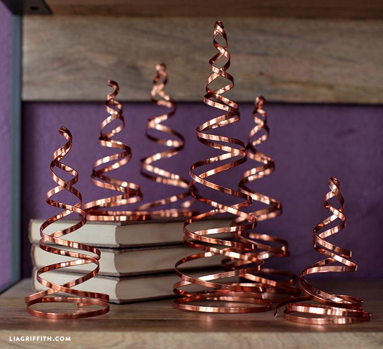 diy copper christmas