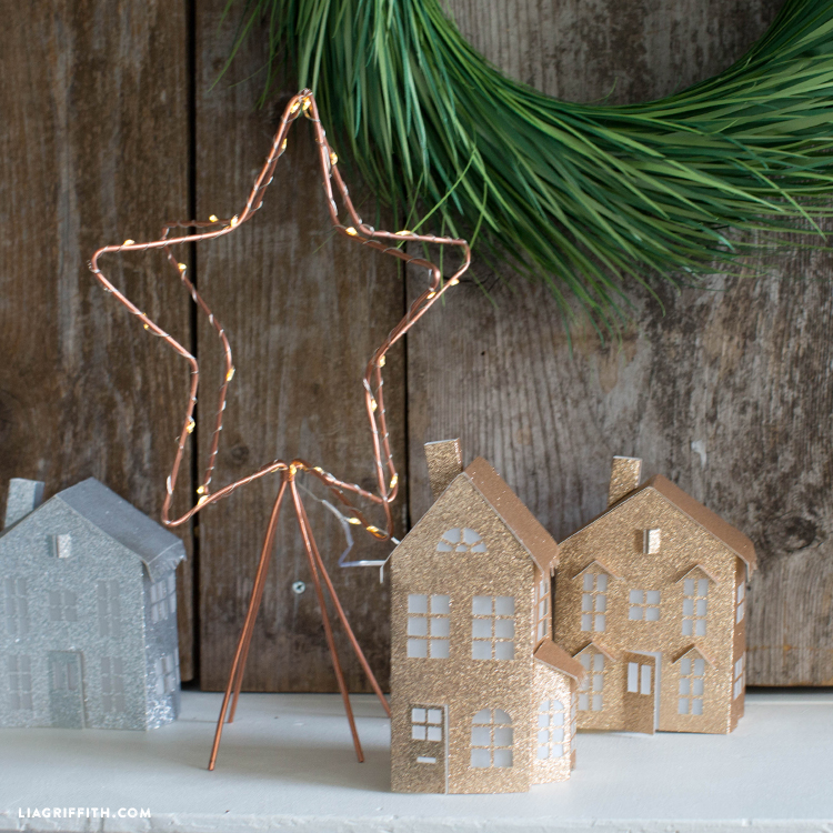 copper wire star decoration