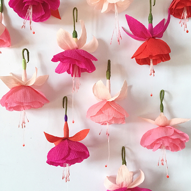 crepe paper flowers by susan beech