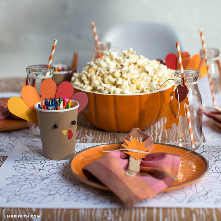 thanksgiving tablescapes kids