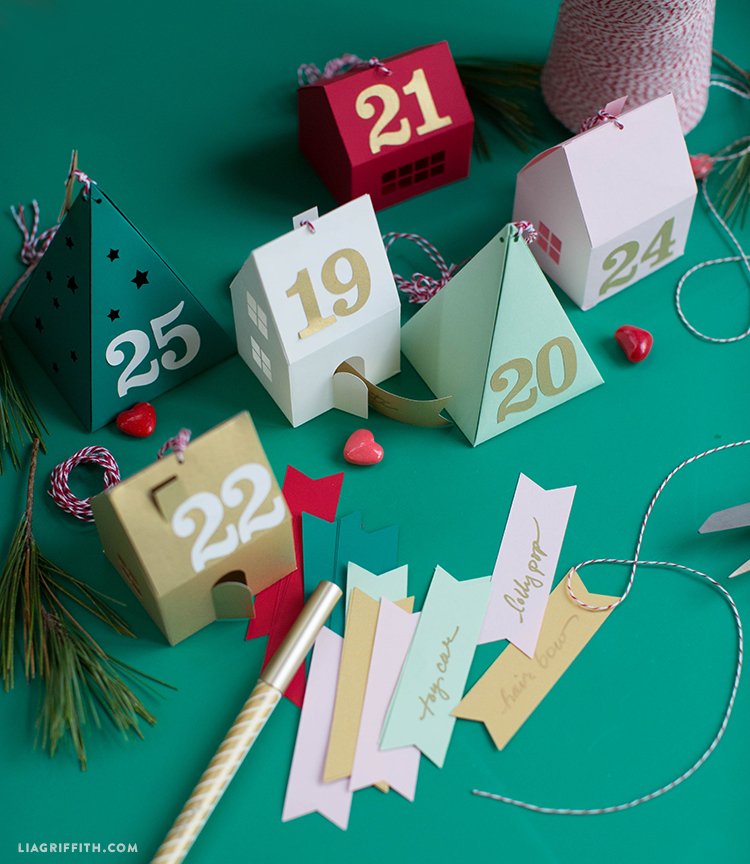 advent calendar village