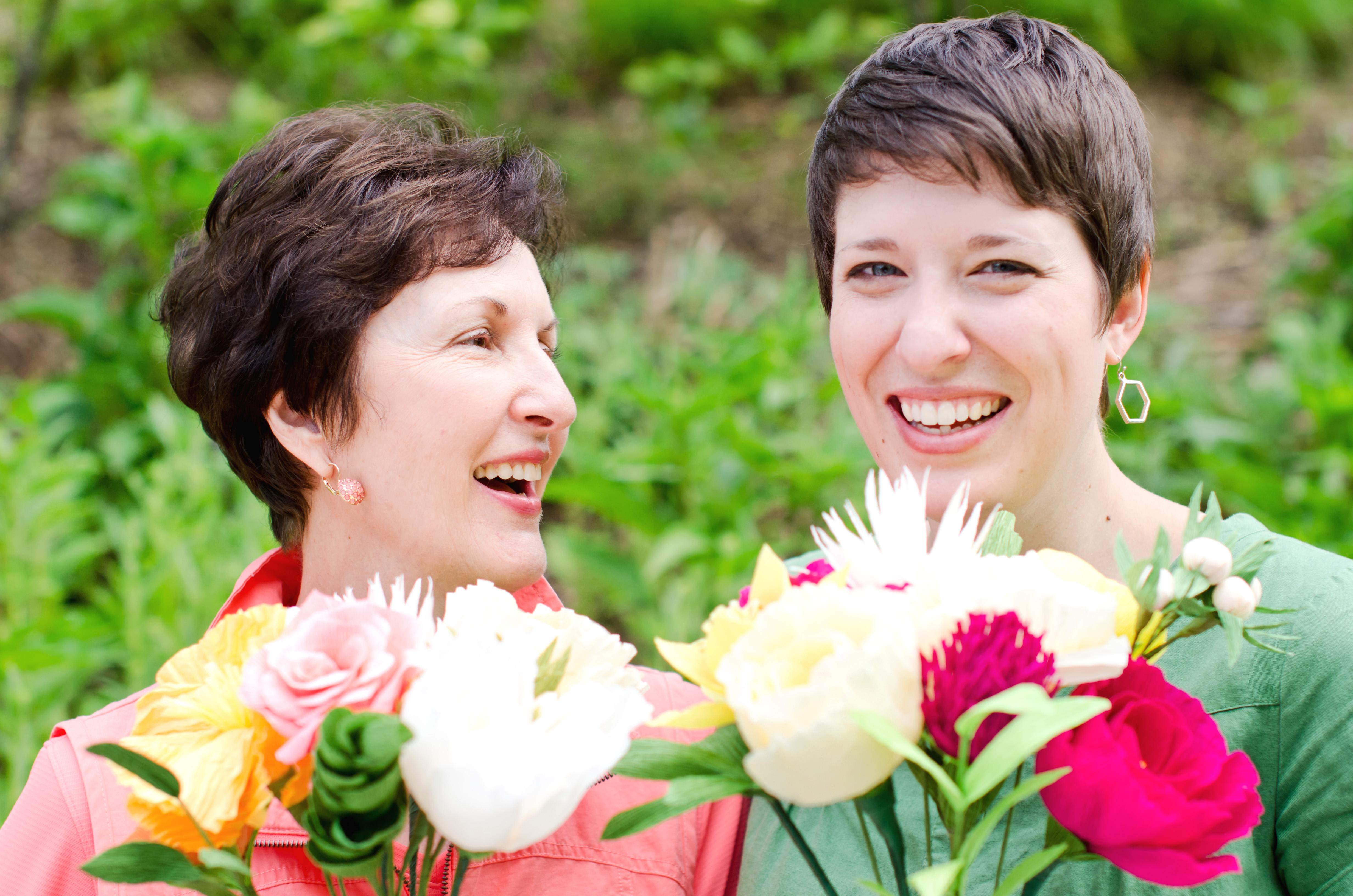 paper flowers amaranthus