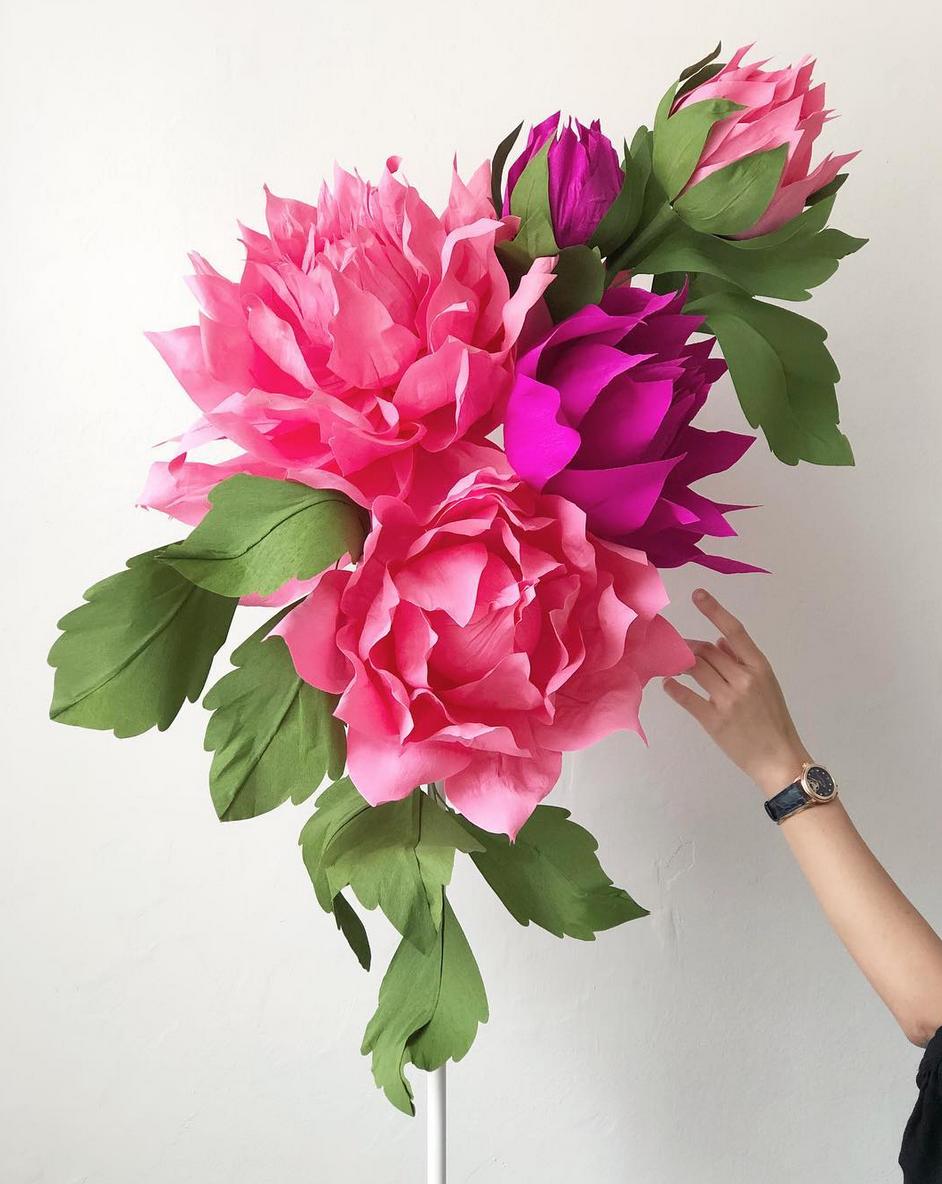 paper flower artist papetal