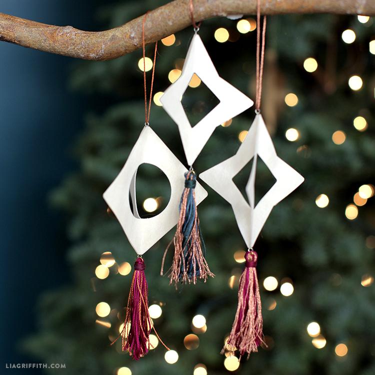 diy tassel ornaments