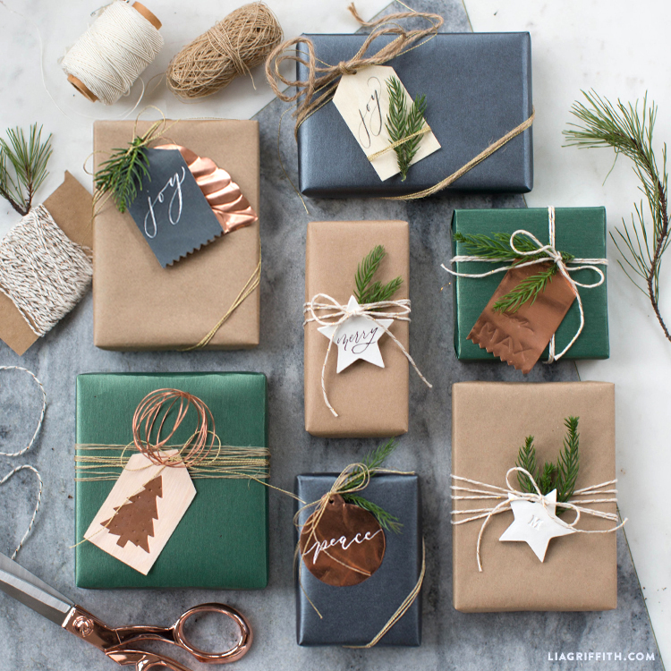 unique holiday gift tags