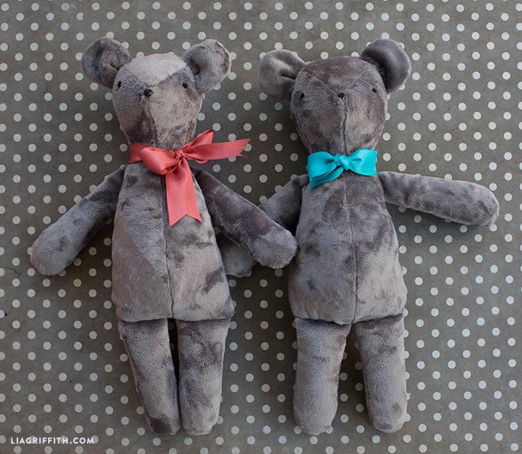 diy teddy bear toy