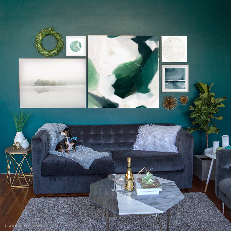 create a stunning space with canvas prints