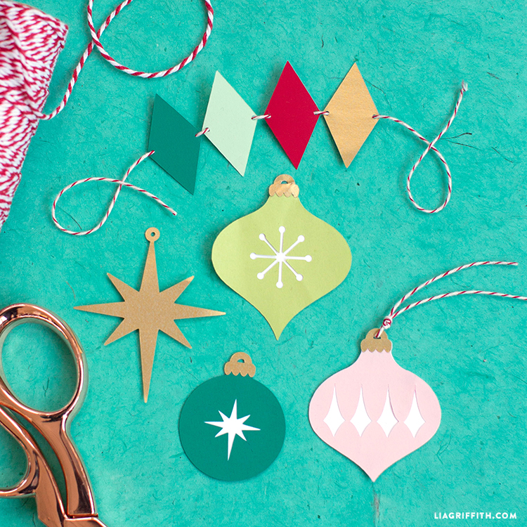 papercut gift toppers