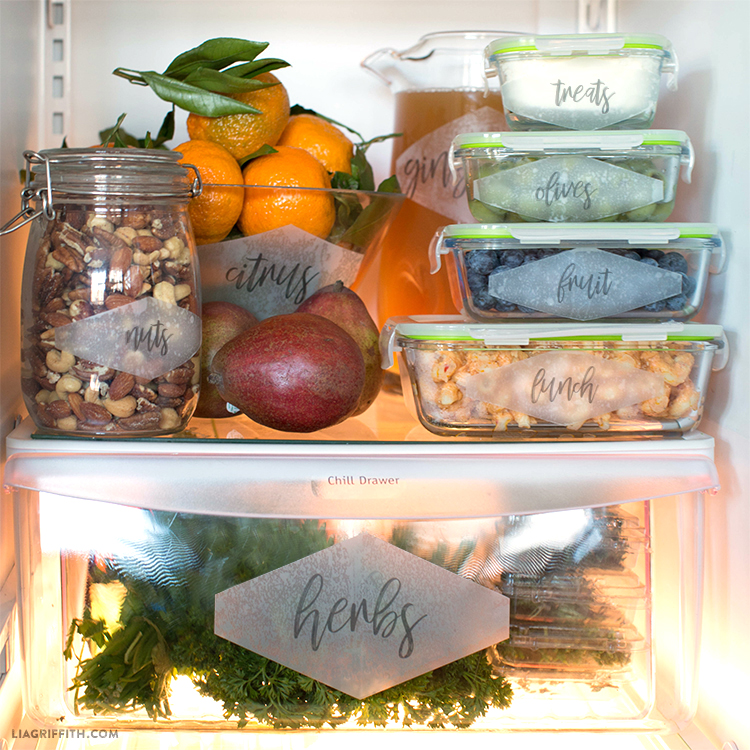 refrigerator labels