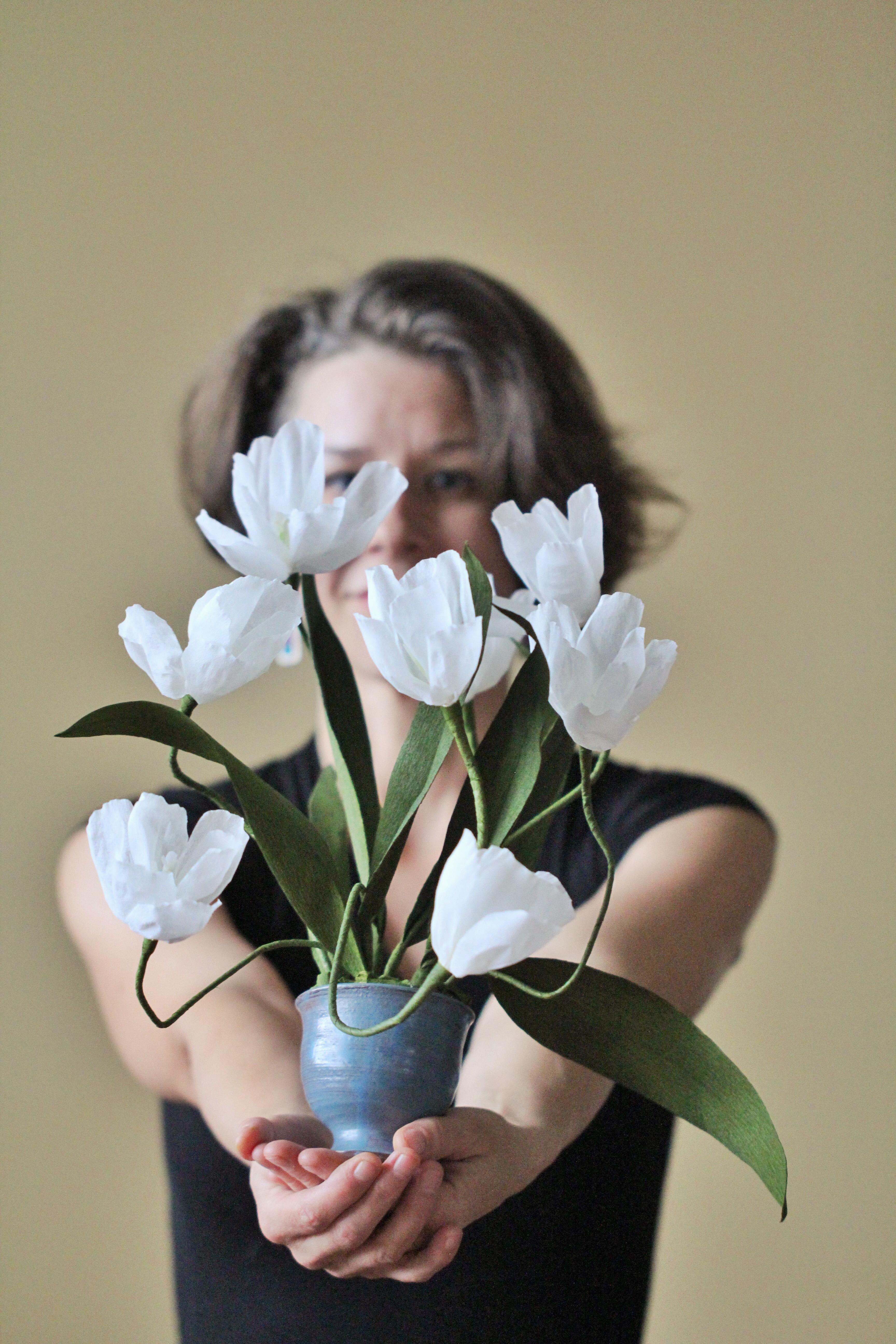 amity beane paper flower artist
