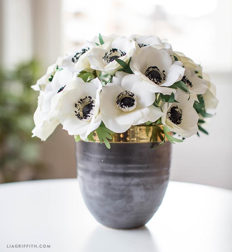 crepe anemone flowers
